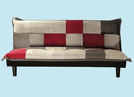 Divano In Lino Opinioni : Divani divano letto click clack arlecchino cm. 180x83x78h: amazon