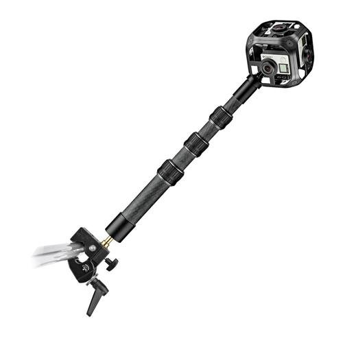 Manfrotto Virtual Reality Small 4-Section Carbon Fiber Extension Boom, Extends to 2.6' by Manfrotto (Image #2)
