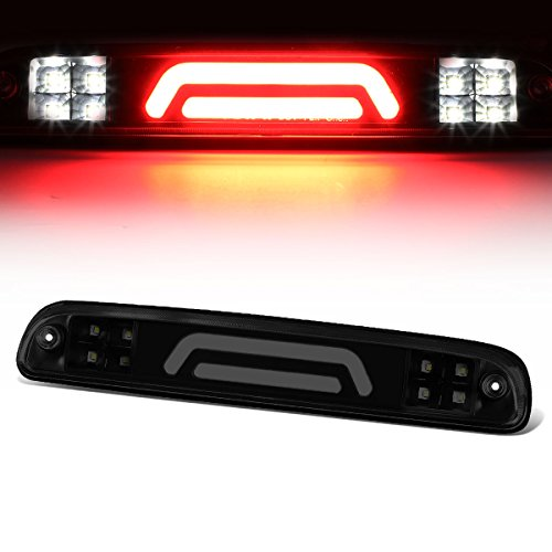 For B-Series/F-Series/Ranger 3D LED Light Bar Third Brake Lamps (Black Housing/Smoked Lens) 11th 12th - 3rd Light Brake Smoked
