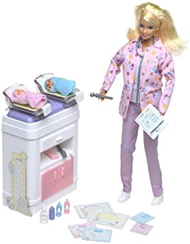 Fits in Belly LQQk Barbie Doll House Nursery Doctor Happy Family Midge/'s Baby