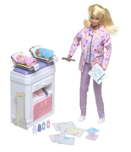 Barbie Happy Family Baby Doctor (The Happy Family Barbie Dolls)