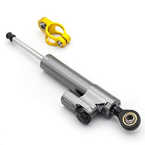 PROCNC Motorcycle Adjustable Steering Damper Stabilizer Linear Reversed Safety Control For Suzuki GSXR600 01-10, GSXR750 01-05, HAYABUSA GSXR1300 98-16, GSXR 1000 01-15, Benelli BN600 BJ600 - Stabilizer Suzuki Gsxr750