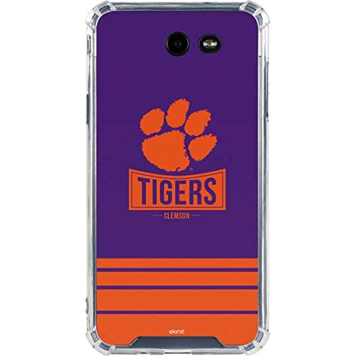 Skinit Tigers Clemson Galaxy J7 (2017) Clear Case - Skinit Clear Case - Transparent Galaxy J7 (2017) Cover