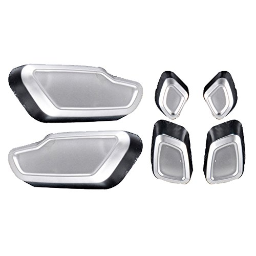 Chrome Door Seat Adjust Button Switch Kit For Mercedes B C E CLS GLK GL ML Class