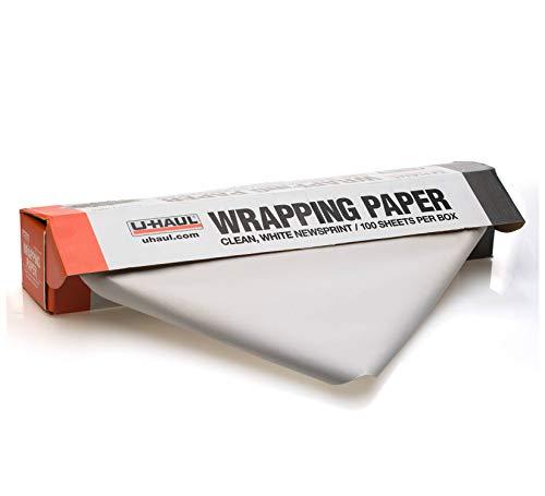 "U-Haul Packing Paper - 5 lbs. - 100 Sheets - 24"" x 30"" (100 Sheet Pack)"