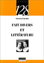 Faits divers et littérature