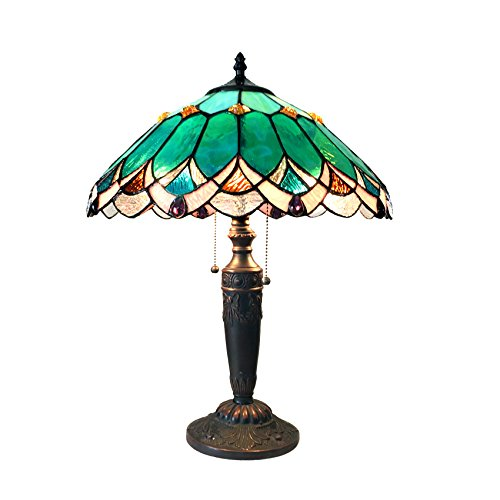CHLOE Lighting CH15131GV16-TL2 Demeter Table Lamp, One Size, Multicolor