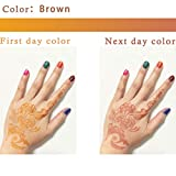Pure Henna Powder with Applicator Bottle and