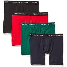 Tommy Hilfiger Men's 4-Pack Cotton Boxer Brief