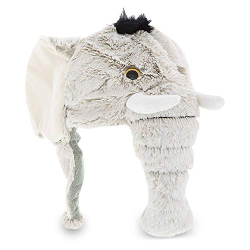 - Dollibu Stuffed Animal Plush Soft Warm Fleece One Size Peruvian Hat - Elephant