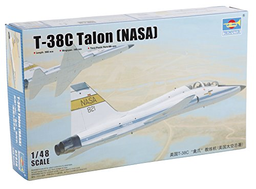 Trumpeter US T-38C Talon (NASA) Model Kit for sale  Delivered anywhere in USA