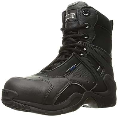 Rocky Men's 8 Inch 1st Med 911-113 Puncture Resistant Work Boot,Black,4 M US