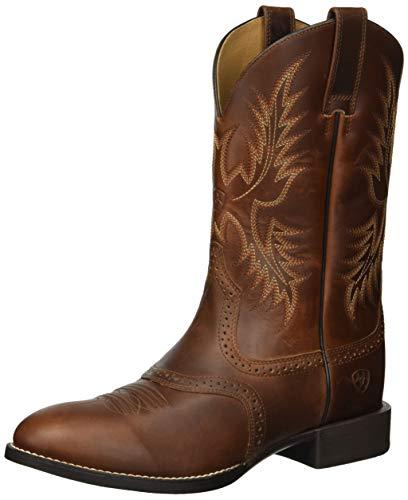 Ariat Men's Heritage Stockman Western Boot, Native Nutmeg, 9.5 D US - Heritage Stockman Boots