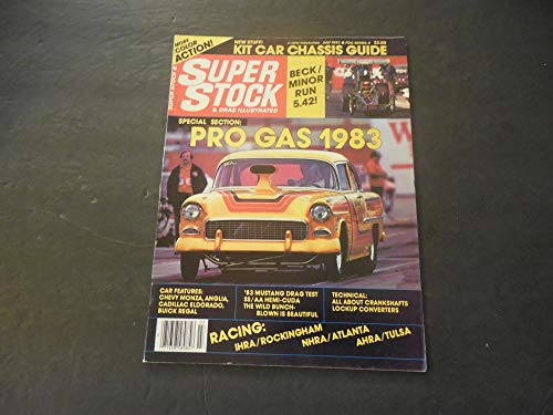 J Car Chassis - Super Stock Drag Illustrated Jul 1983 Kit Car Chassis Guide; IHRA