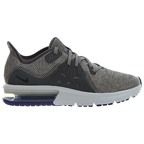 Sequent Nike Multicolore Max Grey da Moon Corsa Scarpe Uomo 004 Air GS 3 Dark Black rFExnrg