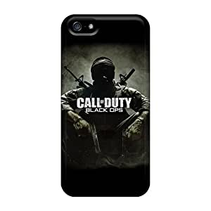 Hot Call Of Duty B Ops First Grade Tpu Phone Case For Iphone 5/5s Case Cover