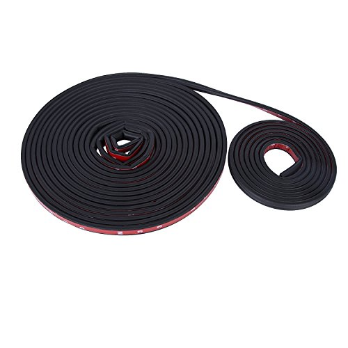 Sadzero10M (32.8 Feet) Self Adhesive Rubber Car Door Edge, Guard Molding Trim DIY Protector, Tape Soundproofing Collision Avoidance Weather Strip Widely Used In Engine Compartment
