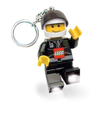 Lego City Police Officer Flashlight Keychain