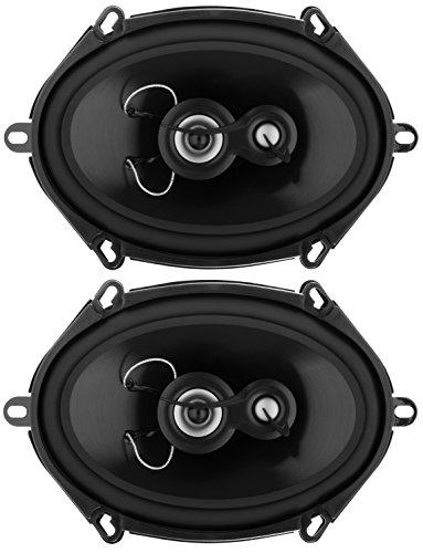 Closeout 5 Covers - Planet Audio TRQ573 Torque 300 Watt (Per Pair), 5 x 7 Inch, Full Range, 3 Way Car Speakers (Sold in Pairs)