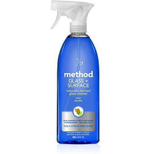 Method Glass and Surface Cleaner, Mint, 28 Ounce