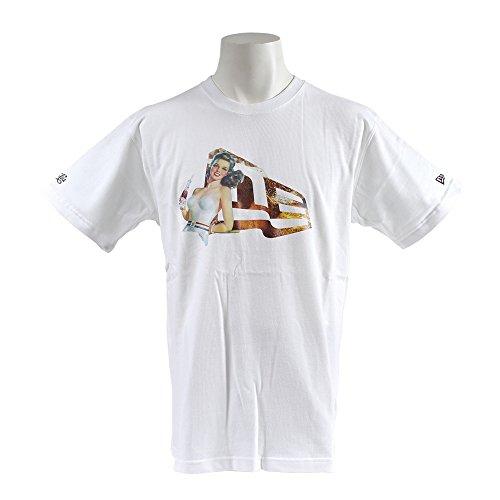 ニューエラ (NEW ERA) ペプシ コラボ Tシャツ ヴィンテージ フラッグロゴ ホワイト PEPSI L