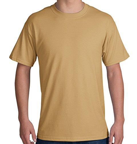 Port & Company - 50/50 Cotton/Poly T-Shirt. PC55 - XXX-Large - Dessert Sand (Port Dessert)