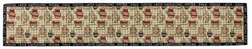Park B. Smith Rustic Cafe Tapestry Table Runner, 12-1/2 by 72-Inch (Cafe Tapestry)