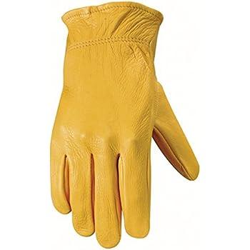 Wells Lamont Women S Leather Work Gloves Grain Deerskin