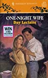 One-Night Wife, Day Leclaire, 0373033761