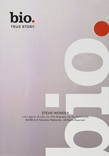 Bio: Stevie Wonder (Dvd Stevie Wonder)