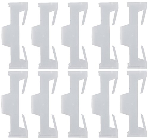 - Servo Extension Safety Connector Clips - 10 Pack - Apex RC Products #2921