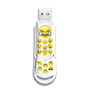 Integral Xpression Emoji 64GB USB Flash Drives are Stylishly Designed USB Memory Drives Ideal Storage and Back Up for…