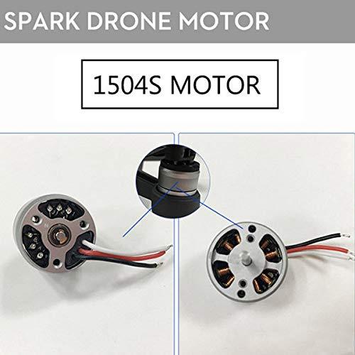 Majome 1504s Moteur Original Moteur Brushless de Rechange r/éparation Accessoires pour DJI Spark Drone