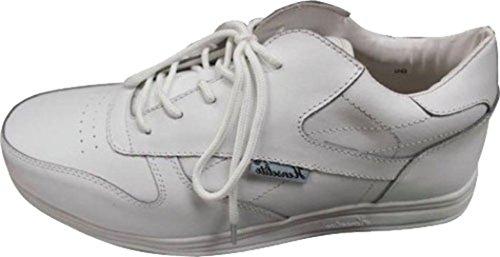 Henselite Victory Sport Schalen Schuhe Herren Bowling Rasen Turnschuhe Weiß Gr. 6–12
