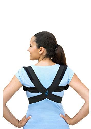 Posture Corrector for Women & Men I Upper Back Brace for Pain Relief I Comfortable and Adjustable Shoulder Brace for Slouching