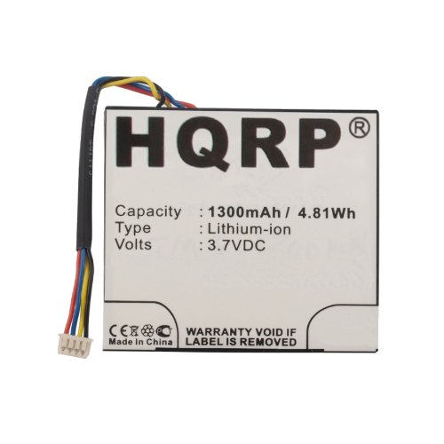 HQRP Battery for Texas Instruments TI-Nspire CX, TI-Nspire CX CAS Graphing Calculator Handheld N3/GC/1L1/B 1815 F071D 3.7L1060SP 3.7L1230SP 541383800002-G0311 541383800002-G0511 3.7L1200SP + Coaster