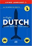In-Flight Dutch: Learn Before You Land (English and Dutch Edition)