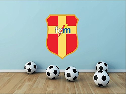 Messina FC Italy Soccer Football Sport Art Wall Decor Sticker 25'' X 18'' by postteam