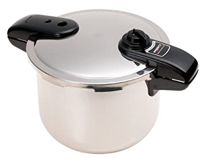 Presto 8-Quart Stainless Steel Pressure Cooker by Presto