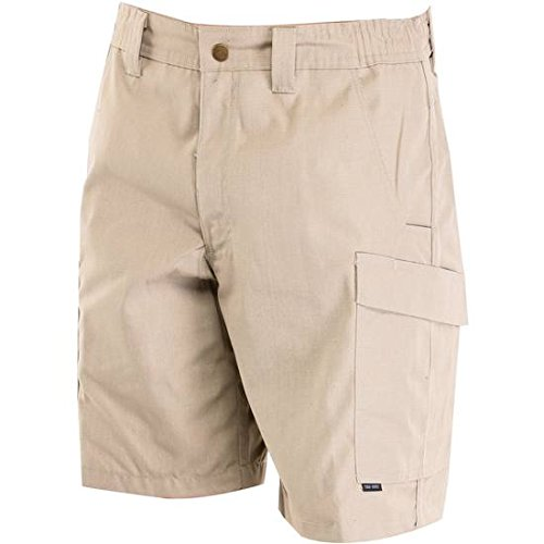 (Tru Spec 4233008 Men's Khaki 24-7 Series Simply Tactical St Cargo Shorts Size 40)