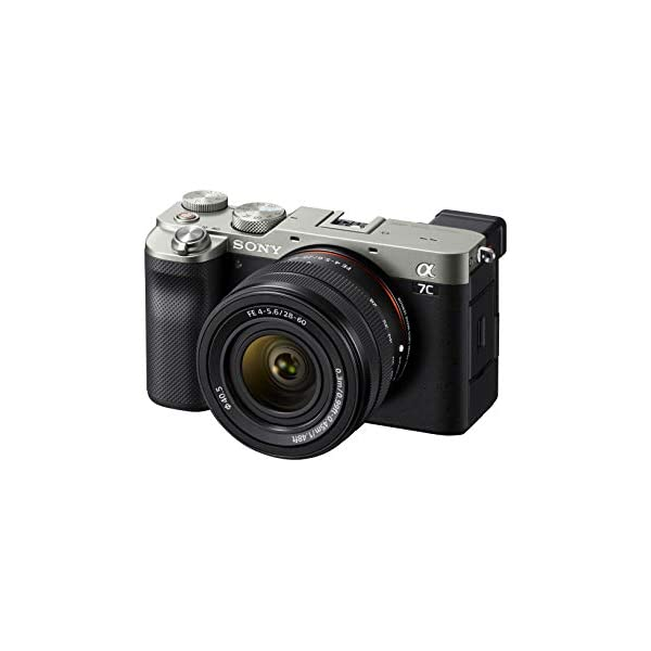 RetinaPix Sony Alpha 7C Full-Frame Compact Mirrorless Camera Kit - Silver (ILCE7CL/S)
