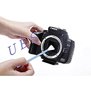APS-C Frame (CCD/CMOS) Digital Camera Sensor Cleaning Swab Type 2 Cleaning Kit (Box of 12 X 16mm Swab + 15ml Sensor Cleaner) from UES