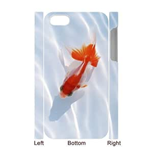 LZHCASE Diy 3D Protection Hard Case Goldfish For Iphone 5C [Pattern-1]