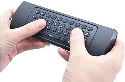 TAGLUMO Newest Fly Air Mouse /& Wireless Mini Keyboard with Mic /& Remote Control for Android TV Box Media Player