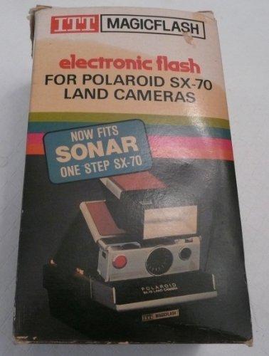 Vintage ITT MAGICFLASH for all Polaroid SX-70 Land Cameras - Polaroid Land Camera Pronto Film