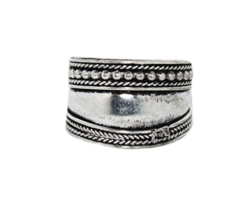 Adjustable Ring Tibetan Ring Boho Ring Gypsy Ring Silver Ring (Navajo Adjustable Ring)