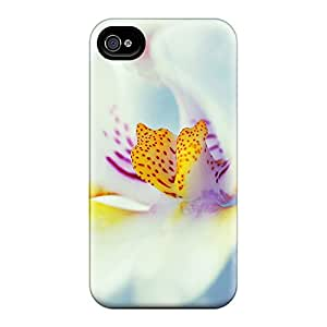Defender Cases With Nice Appearance (white Flower) For Iphone 6