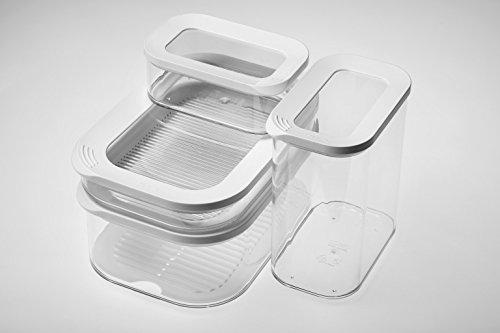 Kühlschrank Dose Aufschnitt : Mepal kühlschrankdose modula aufschnitt 550 1 plastik weiß 22.4 x