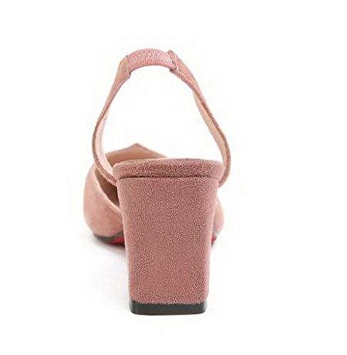 Sandales Rose ASL05495 Compensées BalaMasa Femme wCSq5Y