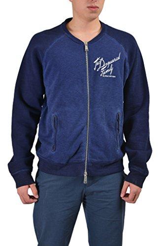 Dsquared2 Men's Blue Full Zip Track Jacket US M IT 50; (Clothing Dsquared2 Mens)